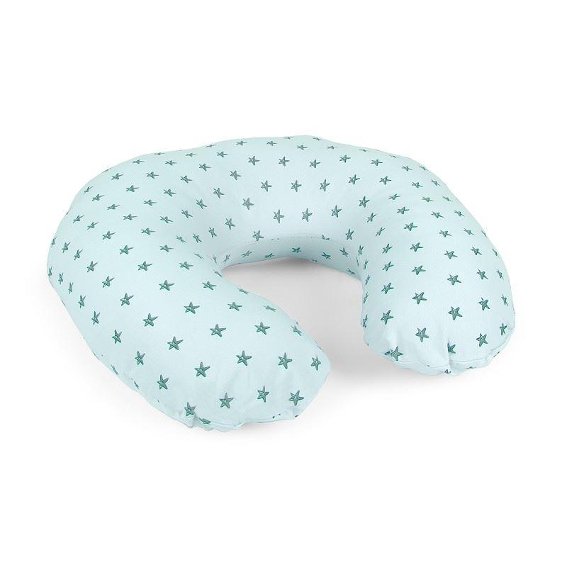 Almohada de lactancia Estrellas Verde