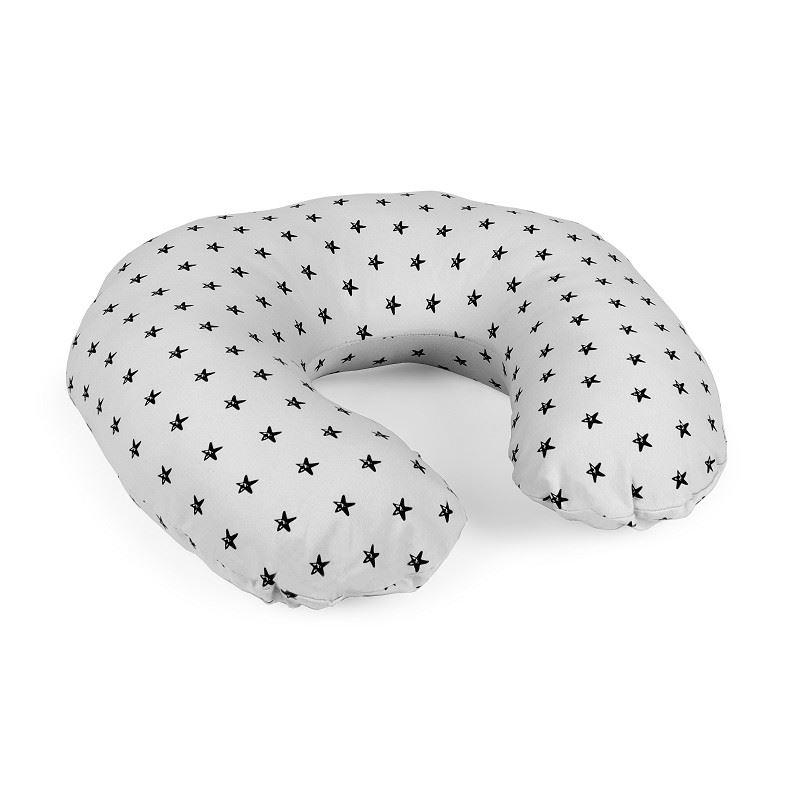 Almohada de lactancia Estrellas Gris